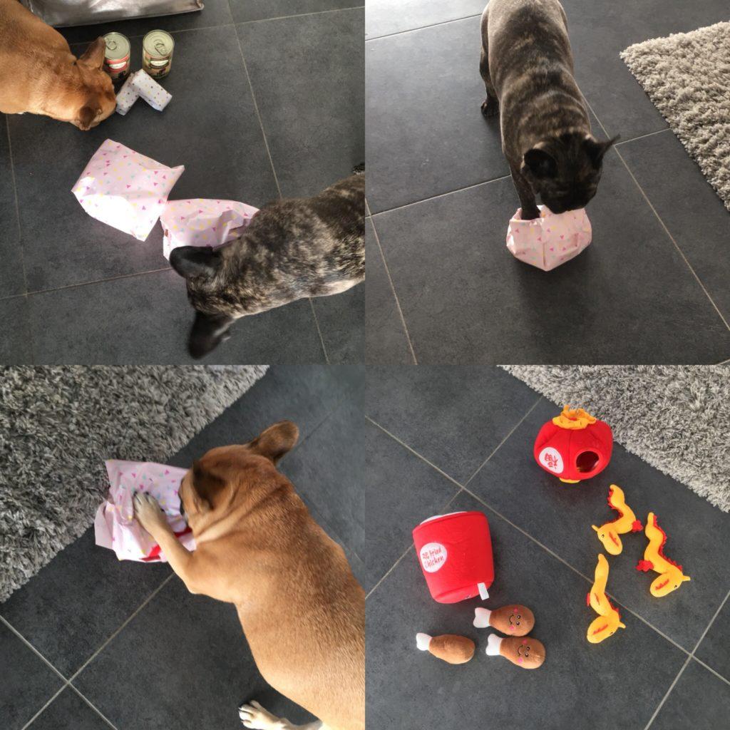 EKO4petz speeltjes uitpakken dierendag