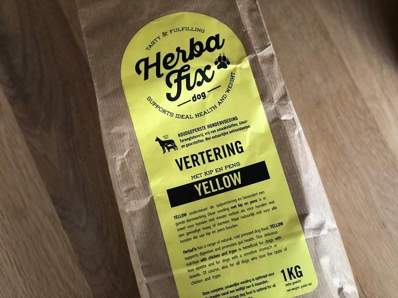 Herbafix bij natuurlijk voor de hond
