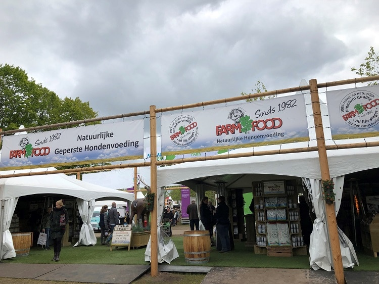 Farmfood stand op Animal Event