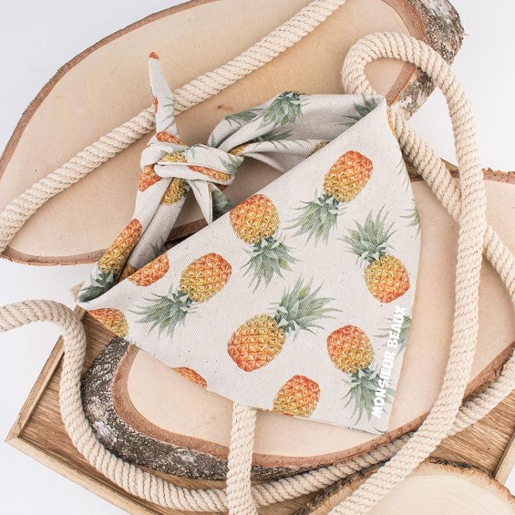 Bandana hond ananas
