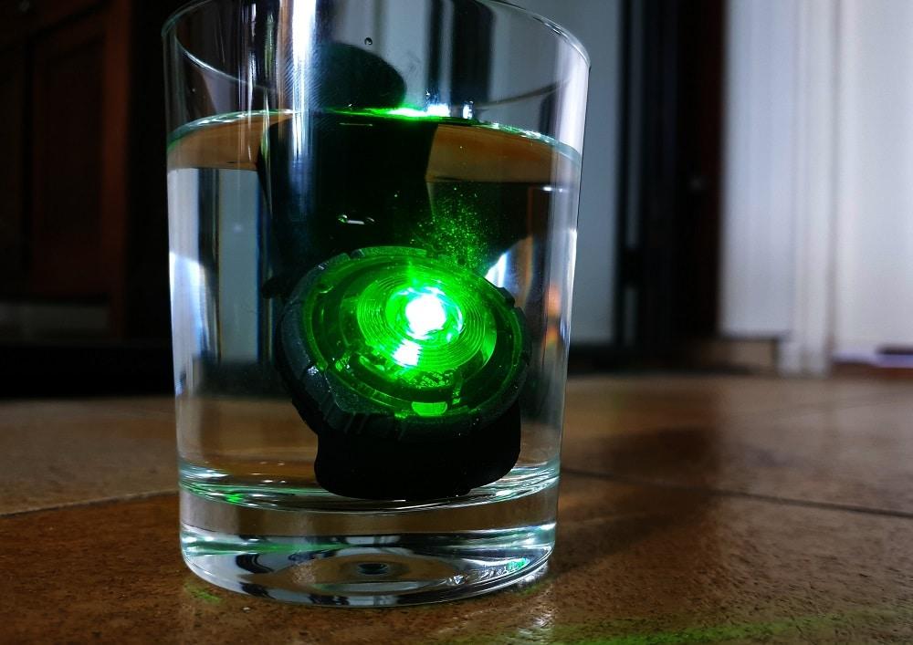 Orbiloc waterdicht glas water