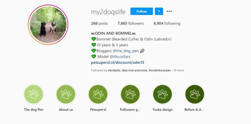Bio Odin en Bommel op Instagram
