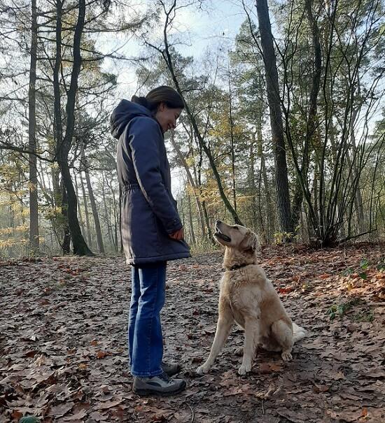 hondenwandeling Sabine Owney jas