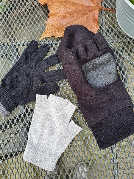 hondenwandeling handschoenen